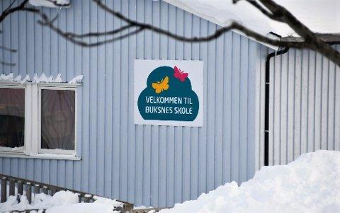 Buksnes skole ble stengt mandag formiddag, grunnet vannmangel.