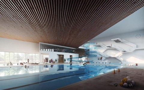 ÅPENT UTFALL: Det blir fellesnemnda for Nye Moss som først skal behandle saken om framtidige svømmehaller.