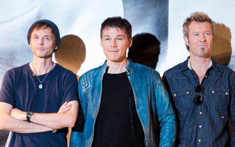 A-ha skal for første gang spille i Trondheim Spektrum.