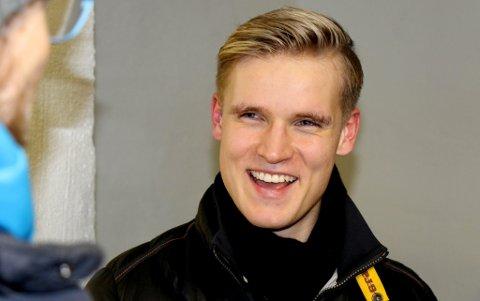 GLISER GODT: Mikael Norø Ingebrigtsen har scoret i alle vinterkampene til TIL, og har satt inn fem av TILs sju mål så langt. 22-åringen tror en rolle han trives bedre i og litt jobbing med å bli en enda bedre lagspiller er det som gir resultater.