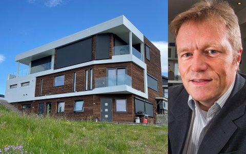 DYR KÅK: Terje Wold har kjøpt dette huset i Fagerlivegen for 19,9 millioner kroner,