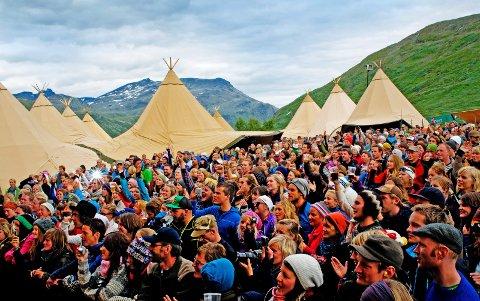 UTSOLGT: Vinjerock selges ut på sekunder i november. Festivalen har satt et tak på 3000 publikummere. Arkivbilde