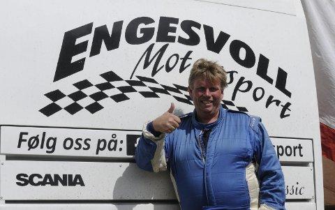FJERDEPLASS: Rune Engesvoll tok fjerdeplassen i den største klassa.
