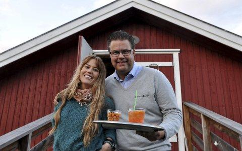INVITERT TIL LÅVEN: Hege Øversveen sa ja med en gang til å gjeste Smestadlåven hos Erik Nygård.
