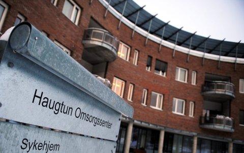 IKKE MER OFFENTLIG FLAGGING: – Det blir ikke noe mer offentlig flagging ved Haugtun omsorgssenter, meldte Gjøviks Blad onsdag.