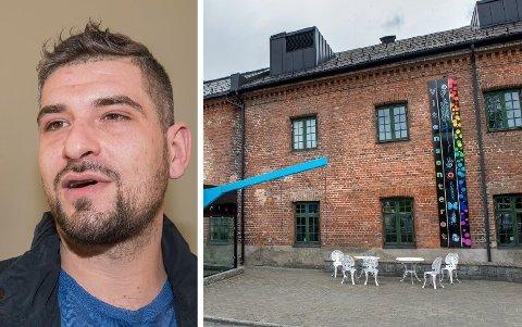 """FORBILDE: Leo Ajkic fikk Fritt Ords honnørpris for serien """"Flukt"""" i 2017. Snart kommer han til Vitensenteret for å snakke med ungdom fra Vestoppland."""