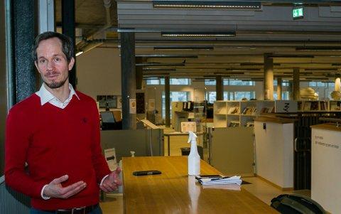 ALVOR: Økende smitte i Frogn blir tatt med største alvor. Vikarierende ordfører Eivind Hoff-Elimari er bekymret over at smittetallene har gått opp.