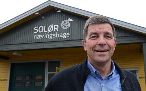 OPTIMIST:  Gunnar Gundersen er ny og optimistisk styreleder i Solør Næringshage.