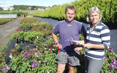 Planteskolen, her representert ved Håkon Andersen og Elin Heimdal, fikk millionoverskudd også i 2018.