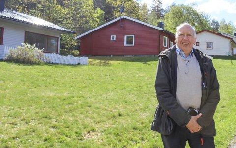 Allerede har folk ringt til Trond Nordby i Forsvarsbygg og meldt sin interesse for fritidsboligene som skal selges på Håøya. Dette bildet er tatt på Mågerø, hvor Forsvaret allerede har kvittet seg med en del eiendommer.
