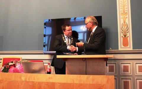 20 år etter at han kom inn i bystyret som 18-åring, ble Robin Kåss torsdag kveld valgt til ordfører i Porsgrunn.