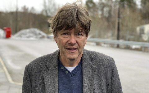 Roger Eilertsen døde på Sykehuset Telemark torsdag morgen.
