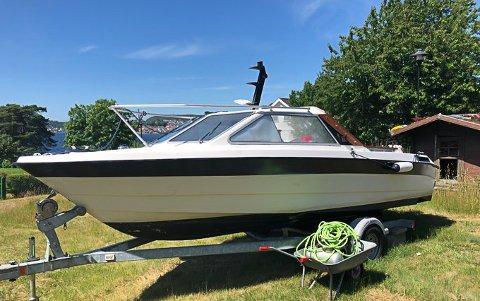 SØKER EIER: Politiet søker eier av denne båten.