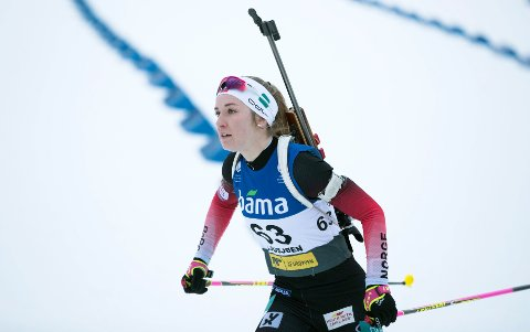 KAN BLI AVLYST:  Emilie Ågheim Kalkenberg skal etter planen gå verdenscupsprint torsdag.