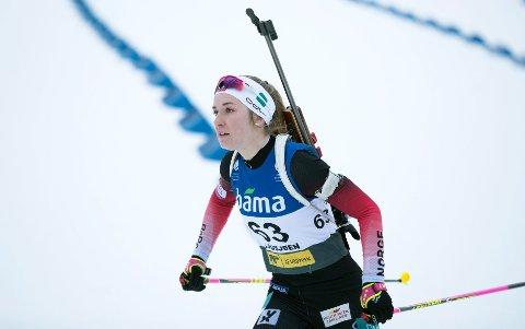 NY SJANSE: Emilie Ågheim Kalkenberg er klar for verdenscup i Oberhof. Foto: Berit Roald