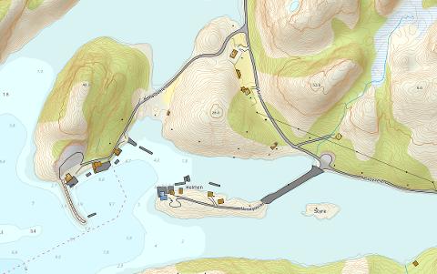 Lurøy kommune har satt i gang en prosess i havna på Sørnesøy.