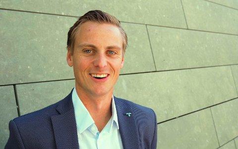 BLE ENIG: Salg- og kundedirektør i Telenor, Jørgen Bjune, har blitt enig med grunneier og har allerede fått den første gledesmeldingen fra Røyse.