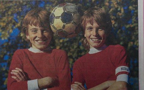 ANNO 1987: Slik så de ut for 32 år siden.