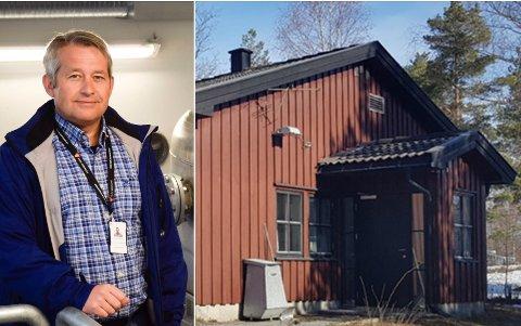 EGEN LØSNING: Hole kommune og tjenesteleder Roger Sørslett vil bygge ut Hole renseanlegg i stedet for å samarbeide med Ringerike.