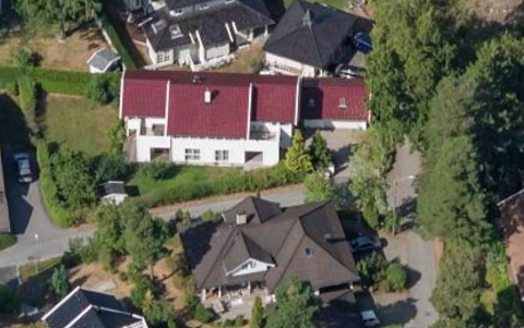 SOLGT: Bloksbergstien 52 ble solgt for 13 millioner kroner.