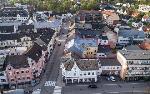 ETTERTRAKTET OMRÅDE: Storgata 11 er den femte bygården som er blitt solgt i Storgata siden slutten av mars.