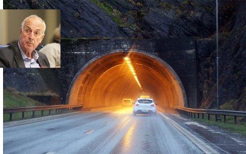 UAKTUELT: Stanley Wirak (Ap) sier at det ikke kommer på tale at bilistene skal betale for utvidelse av tunnel via bompenger.
