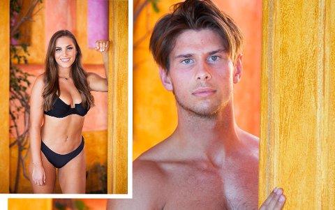 I PARADIS: Emil Willie Gramstad er på bølgelengde med Jenny Hagen.