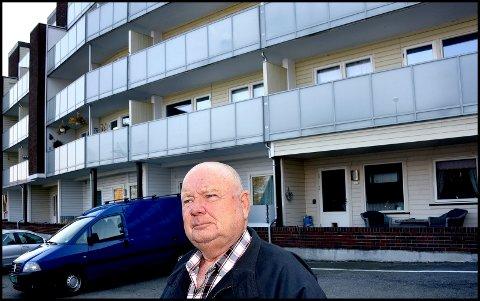 HAR ANMELDT: Alf Bjarne Hansen har på vegne av seg selv og flere andre selveiere i Glengshølen borettslag politianmeldt styreleder Turid Høiden i Glengshølen borettslag.