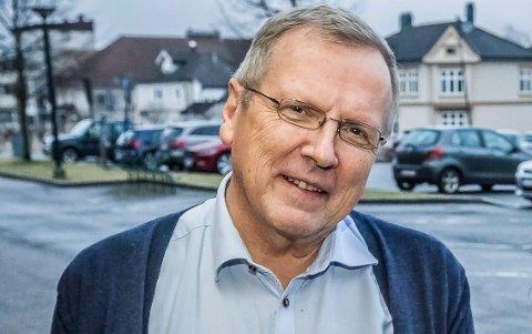 Helsesjef Øyvind Werner Johansen.