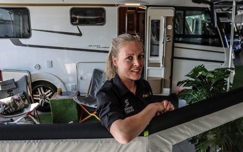 Daglig leder i Stamsaas Fritid, Camilla Erichsen, er glad for at tvisten med en kunde nå har fått en løsning.