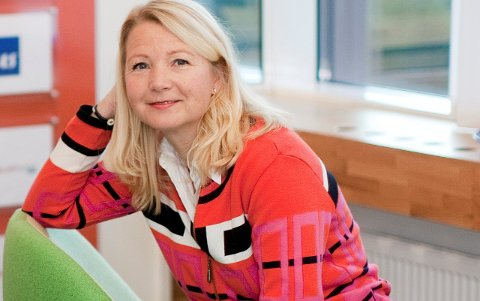 Jeanne Tjomsland i Fjordkraft.