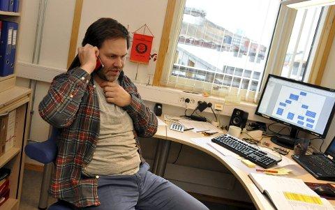 Arild Olsen er både fagforeningsleder og ordførerkandidat i Longyearbyen.
