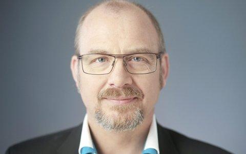 Kritisk: Forlagssjef Thomas Nygaard frykter at språket vårt blir dårligere av å bruke Google Translate for ofte. Foto: Pressebilde