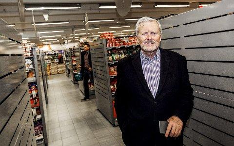 Varehandel: Ekspert Odd Gisholt har ingen tro på at mat på nettmarkedet vil snu opp ned på bransjen. Foto: Pressebilde