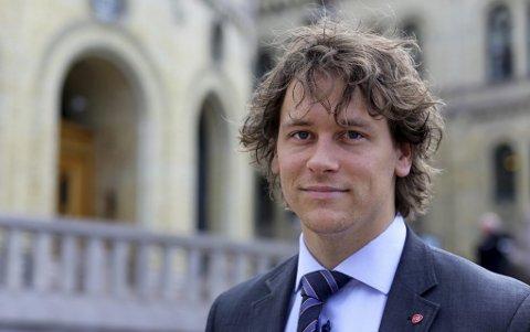 Stortingsrepresentant Fredric Holen Bjørdal (Ap).