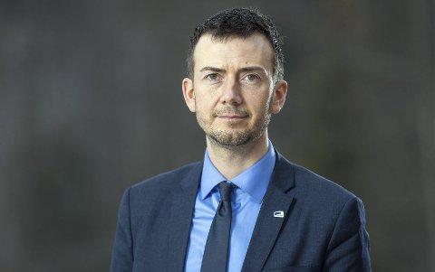 Oppførsel: – Vi må ha klare rammer for atferd og gode sosiale relasjoner i skolen, sier Kent Gudmundsen (H). Foto: Pressebilde