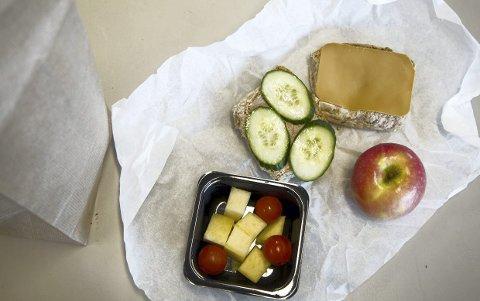 Innholdet i matpakkene var tilpasset allergier og andre hensyn i de utvalgte klassene.