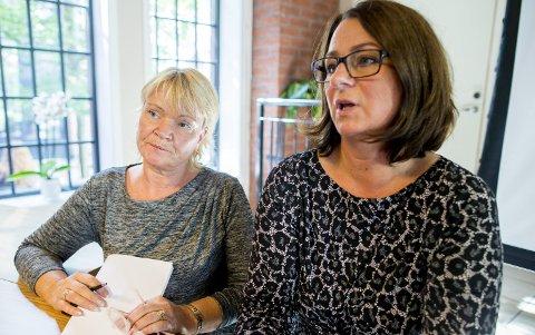 Helse: Kari Kjønaas Kjos fra Frp (t.v.) og Tone Wilhelmsen Trøen (H). Foto: Vegard Wivestad Grøtt, NTB scanpix