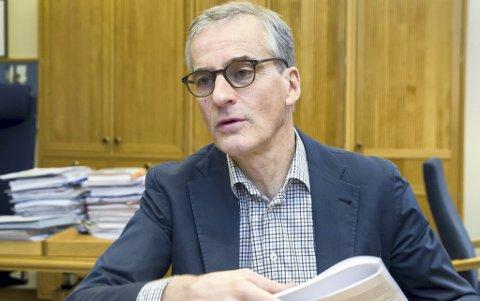 Ap-leder Jonas Gahr Støre.