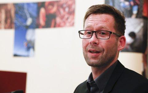 Leder: Clas Delp i Fellesforbundet var forhandlingsleder for arbeidstakerne. Foto: Terje Pedersen, NTB scanpix