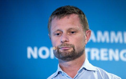 – Vi må få en fortgang i utbyggingen av flere sykehjemsplasser, mener Bent Høie (H).