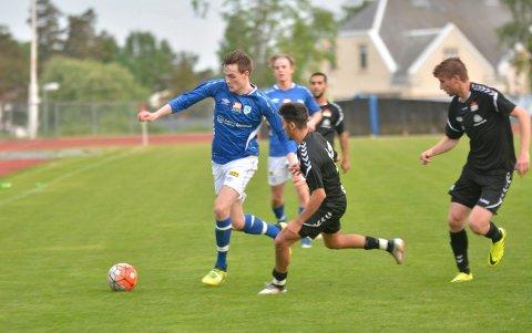 VIKTIG: Kveldens kamp mot Ås hjemem på Askim stadion blir svært viktig for Christian Wolmersen og Askim FK.