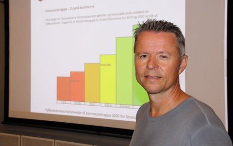 NASJONALE REGLER: - Strand følger de nasjonale retningslinjene, opplyser Geir Bolme.