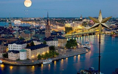 Det er mange nordmenn som reiser til Stockholm på storbyferie.