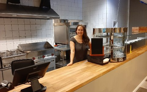 SNART KLART: Det nye spisestedet i Porsgrunn åpner på mandag. Siste innspurt på renoveringen blir gjort denne helgen.