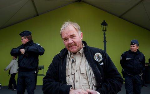 Kurt Oddekalv fotografert under FNs klimakonferanse COP21 i Paris 2015.