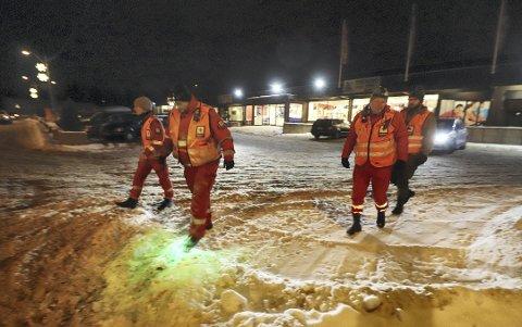 Letemannskaper fra Larvik og Horten deltok i søket.