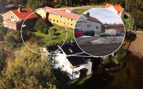 FØROGETTER:Den aktuelle parkeringsplassen i Molstadveien innfeldt i bilde av hvordan det så ut før.