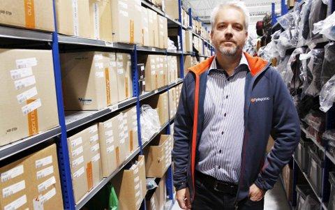 GRÜNDER: Fjellsportgründer Eric Sandtrø står på sammen med sine kolleger for å vokse ytterligere. I 1991 grunnla sandefjordingen netthandelen Komplett – i dag en av Vestfolds største virksomheter.