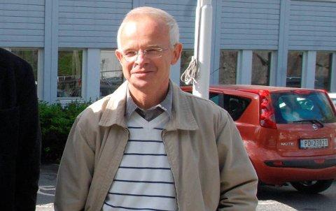 PRosjektleder: Philip Stehpansen, her fra en tidligere anledning. Foto: Arkiv